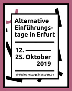 Alternative Einführungstage 2019
